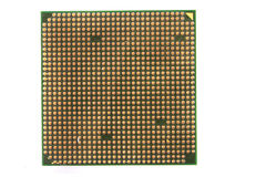 Chip de ordenador aislado Imágenes de archivo libres de regalías