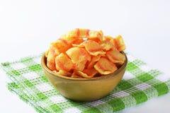 Chip del bacon Immagini Stock