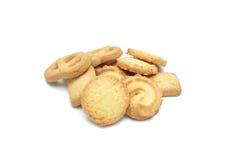 Chip del biscotto e biscotto di zucchero Fotografia Stock