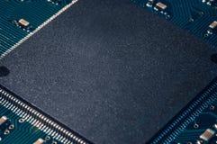 Chip del bordo del computer Fotografia Stock Libera da Diritti