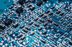 Chip del bordo del computer Immagine Stock