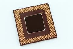 Chip del CPU Fotografia Stock Libera da Diritti