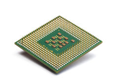 Chip del CPU Fotografia Stock