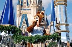 Chip del Disney durante la parata Immagini Stock Libere da Diritti