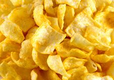 Chip deliziosi Fotografie Stock Libere da Diritti