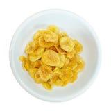 Chip della banana Immagini Stock Libere da Diritti