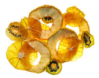 Chip della frutta fotografia stock
