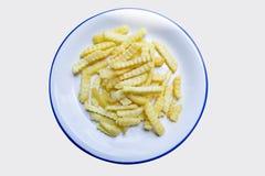 Chip delle patate fritte Fotografia Stock Libera da Diritti