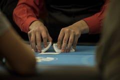 chip derringer gra w pokera shotglass tabeli Obraz Stock