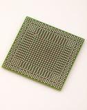 Chip di BGA nella prospettiva Fotografia Stock