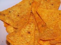 Chip di cereale fotografia stock libera da diritti