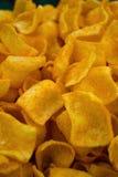 Chip di cereale caldi e piccanti Fotografia Stock Libera da Diritti