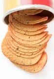 Chip di cereale organici Immagine Stock
