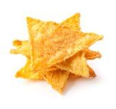 Chip di cereale salati Fotografia Stock Libera da Diritti