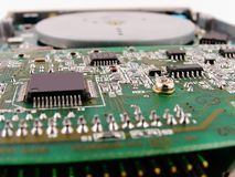 Chip di computer Immagine Stock