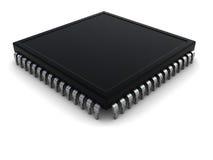 Chip di computer Immagini Stock