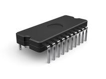 Chip di computer illustrazione di stock