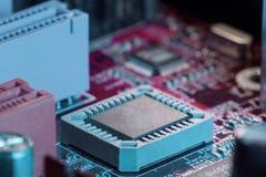 Chip di computer Fotografie Stock