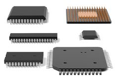 Chip di computer illustrazione vettoriale