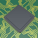 Chip di computer royalty illustrazione gratis