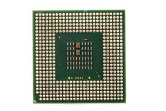 Chip di computer isolato Immagine Stock Libera da Diritti