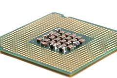 Chip di computer isolato Fotografie Stock Libere da Diritti