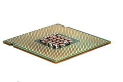 Chip di computer isolato Fotografia Stock