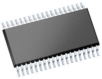 Chip di computer (microchip) Fotografie Stock Libere da Diritti