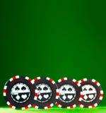 Chip di gioco Fotografia Stock