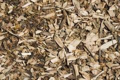 Chip di legno fotografia stock