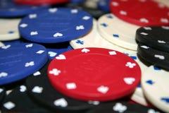 Chip di mazza Fotografia Stock