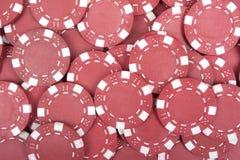 Chip di mazza rossi Fotografia Stock
