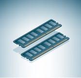 Chip di RAM Fotografia Stock