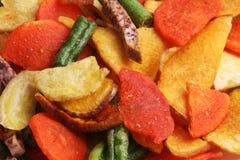 Chip di verdure Mixed. Fotografia Stock