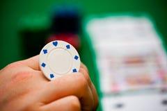 Chip e schede di mazza Fotografia Stock