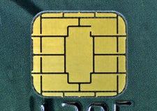 chip för affärskort Royaltyfri Bild