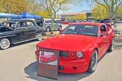 Chip Foose Stallion Mustang rouge Images libres de droits