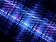 Chip futuristico d'ardore multicolore dell'hardware Fotografia Stock
