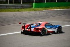 Chip Ganassi Racing Ford GT examinent à Monza Photographie stock libre de droits