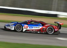 Chip Ganassi Racing Ford GT. 67 Ford Chip Ganassi Racing Ford GT, IMSA, WeatherTech SportsCar Championship, Continental Tire Sports Car Challenge, Prototype, GT Royalty Free Stock Photography
