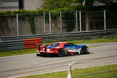 Chip Ganassi Racing Ford GT prova a Monza Fotografie Stock Libere da Diritti