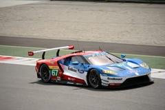 Chip Ganassi Racing Ford GT prueba en Monza Foto de archivo libre de regalías