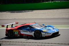Chip Ganassi Racing Ford GT testar på Monza Royaltyfria Foton