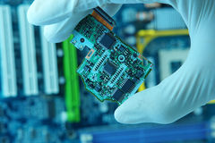 Chip high-technology fotografie stock libere da diritti