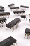 Chip integrated circuits Stock Photos