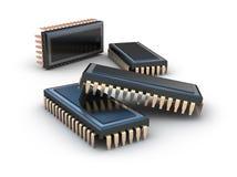 Chip komputerowy   royalty ilustracja