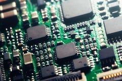 Chip komputerowy Zdjęcia Stock
