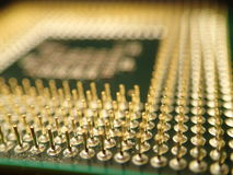 Chip Komputerowy szpilki zdjęcia stock