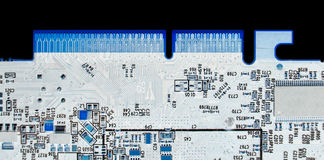 chip komputerowy wiązki kolor x obraz stock