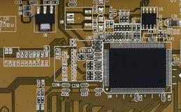 Chip på moderkortet Fotografering för Bildbyråer